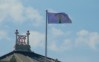 RCC flag at Lord's