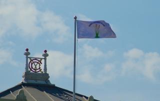 RCC flag at Lord's