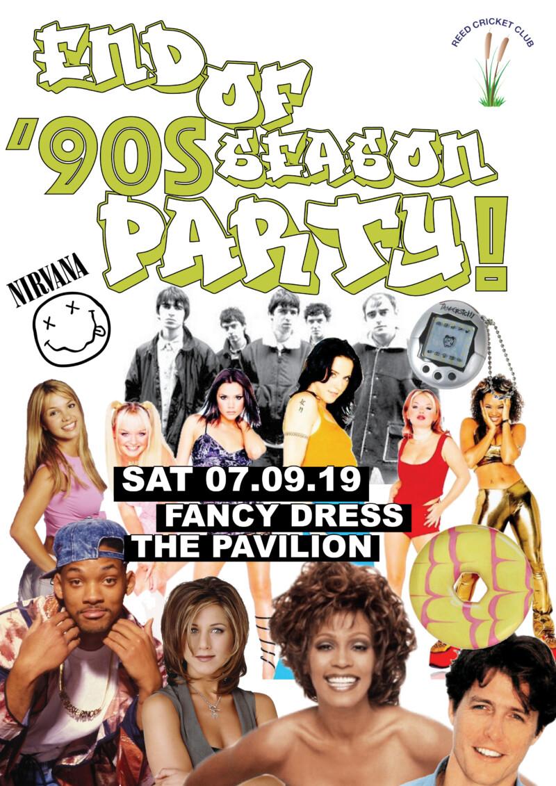 Fancy Dress 90s poster