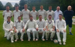 Reed Second XI, Division 4B Champions, 2019